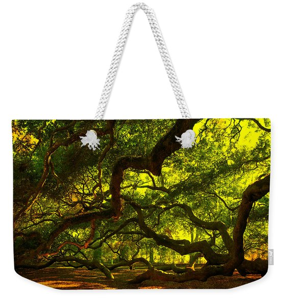 Angel Oak Limbs 2 Weekender Tote Bag