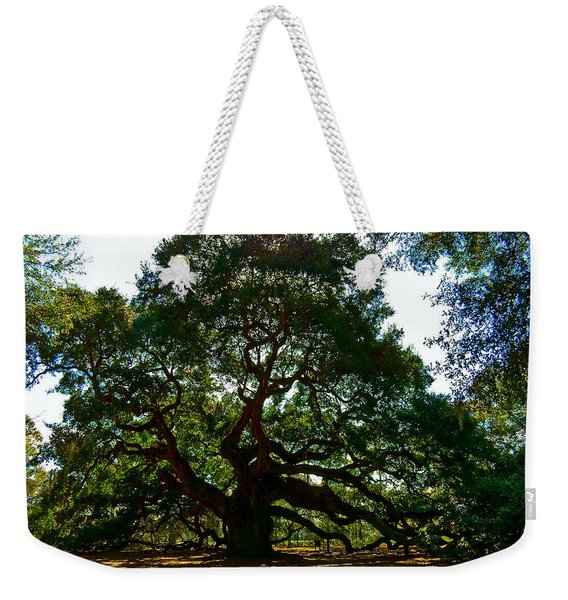 Angel Oak Tree 2004 Weekender Tote Bag
