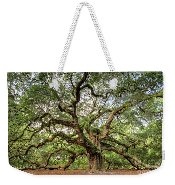Angel Oak Tree Of Life Weekender Tote Bag
