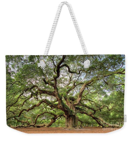 Angel Oak Tree Of Life Weekender Tote Bag