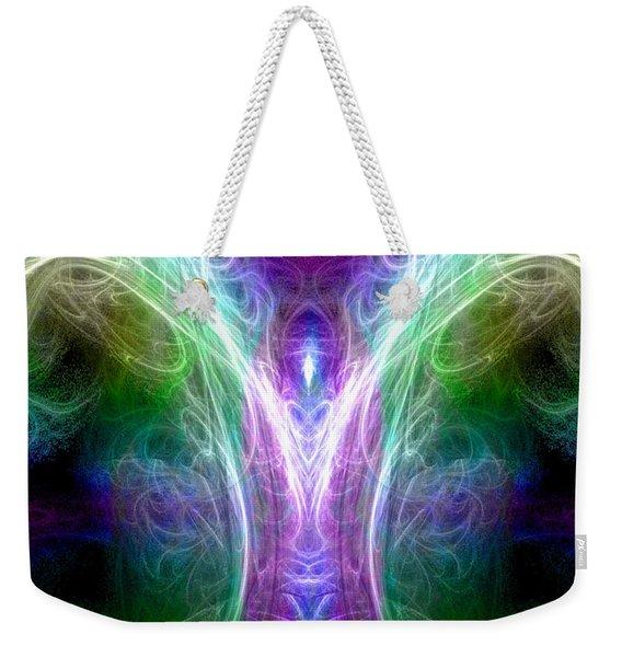 Angel Of Healing Weekender Tote Bag