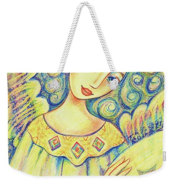 Angel Of Mercy Weekender Tote Bag