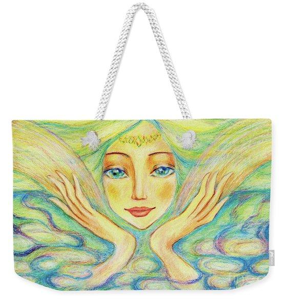 Angel Of Serenity Weekender Tote Bag