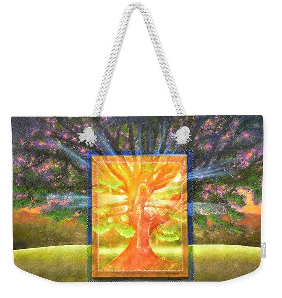 Angel Of The Trees Weekender Tote Bag