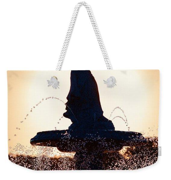 Angel Of The Waters Weekender Tote Bag