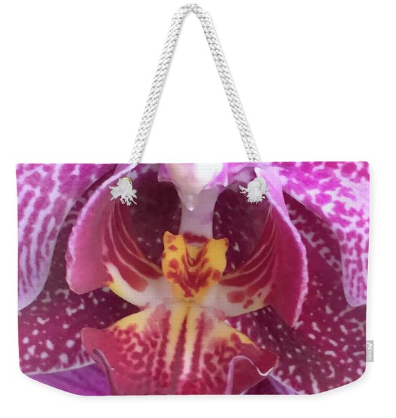 Angel Orchid Weekender Tote Bag