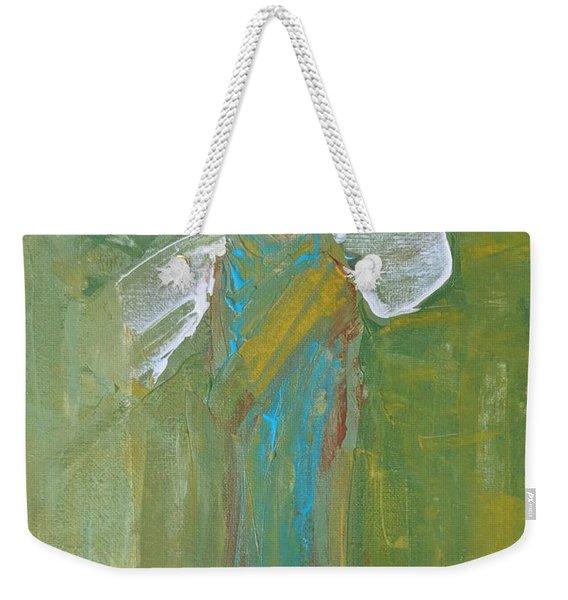 Angel Praise And Worship Weekender Tote Bag
