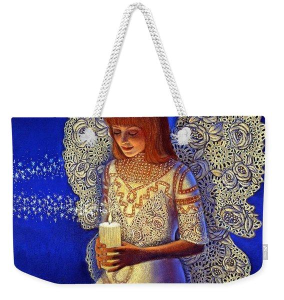 Angel Prayer Weekender Tote Bag