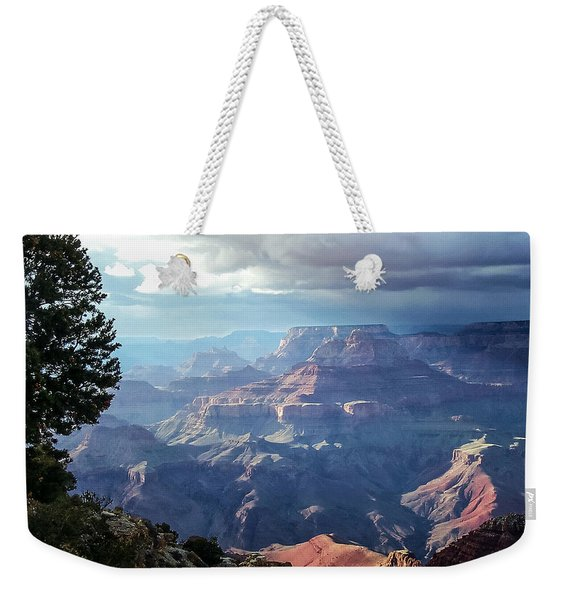 Angel S Gate And Wotan S Throne Grand Canyon National Park Weekender Tote Bag