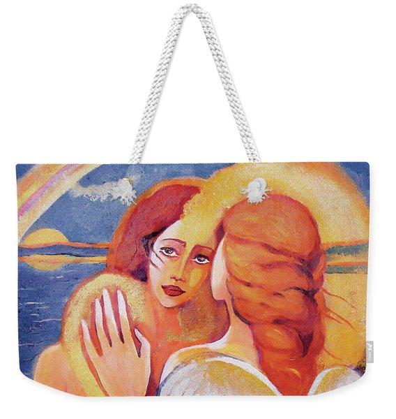 Angel Touch Weekender Tote Bag