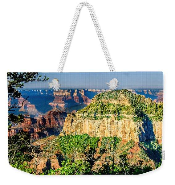 Angel Viewpoint North Rim Grand Canyon Weekender Tote Bag