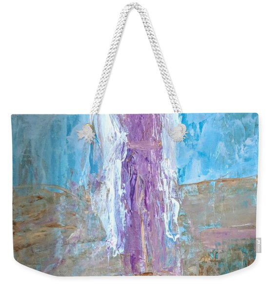 Angel With Confidence Weekender Tote Bag