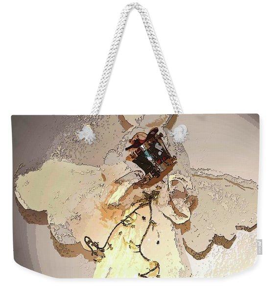 Angel With Drum Weekender Tote Bag