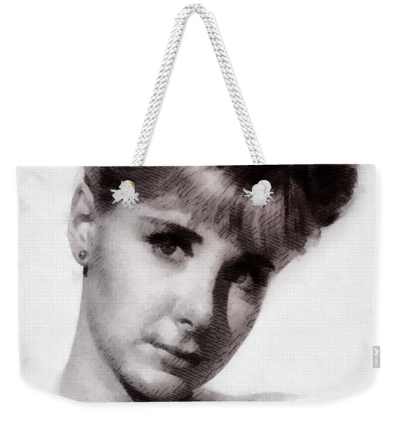 Angela Douglas, Carry On Actress Weekender Tote Bag