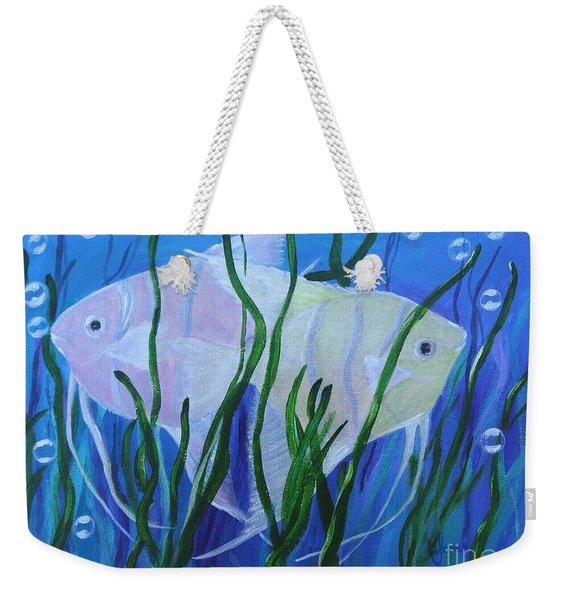 Angelfish Duo Weekender Tote Bag