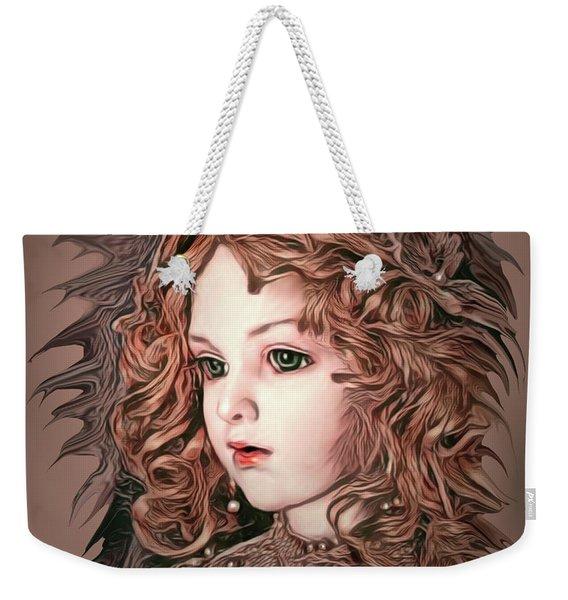 Angelic Doll Weekender Tote Bag