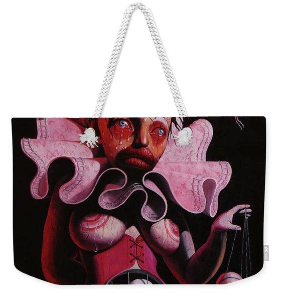 Angels Fly In Chains Weekender Tote Bag