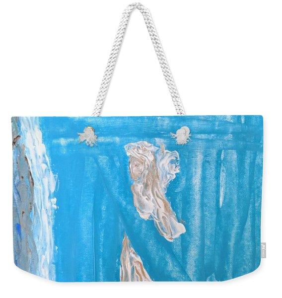 Angels Under A Bridge Weekender Tote Bag