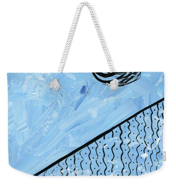 Angle Of Repose Vertical Weekender Tote Bag