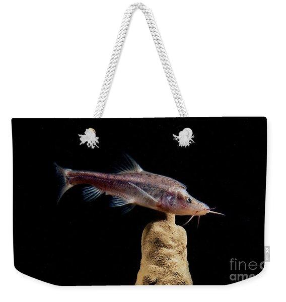 Angled Golden Line Barbel Weekender Tote Bag