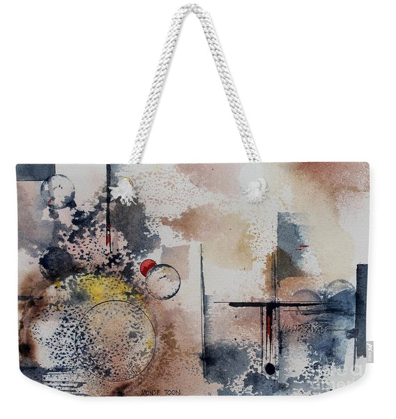 Angry Mother Nature Weekender Tote Bag