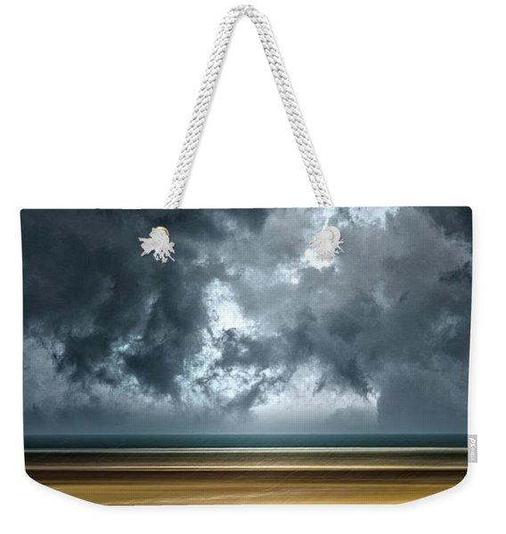 Angry Sky Weekender Tote Bag