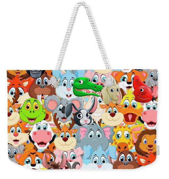 Animals Zoo Weekender Tote Bag
