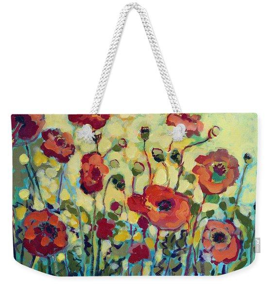 Anitas Poppies Weekender Tote Bag
