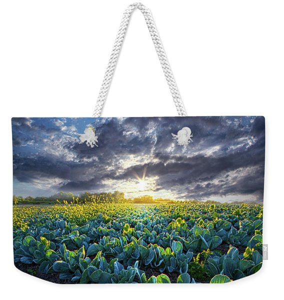 Ankle High In July Weekender Tote Bag