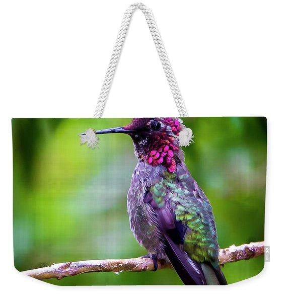 Anna Humming Bird Weekender Tote Bag