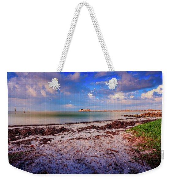 Anna Maria City Pier Weekender Tote Bag
