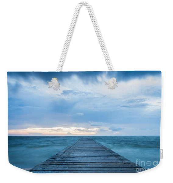 Anna Maria Island Pier Weekender Tote Bag