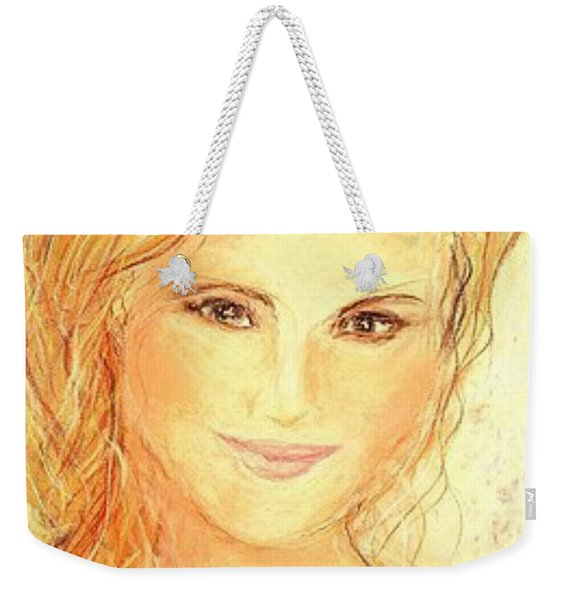 Anna Paquin Weekender Tote Bag