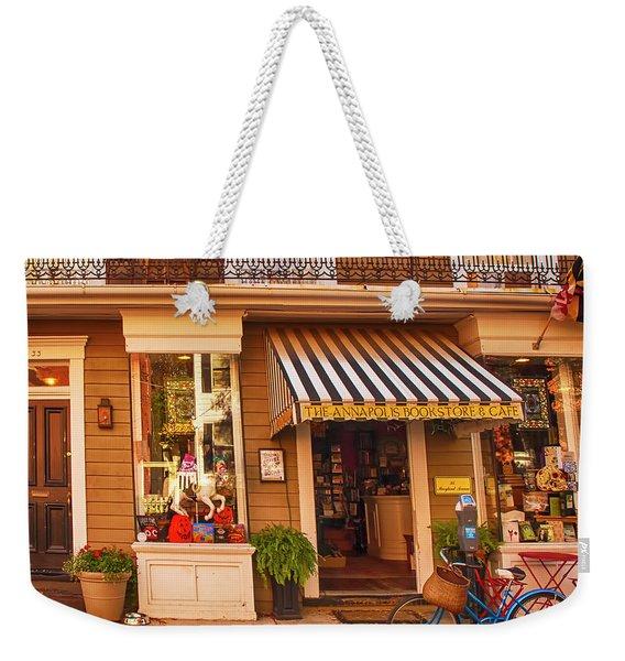 Annapolis Bookstore Weekender Tote Bag