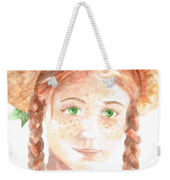 Anne Of Green Gables Weekender Tote Bag