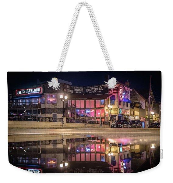 Annies Parlour Minneapolis Weekender Tote Bag
