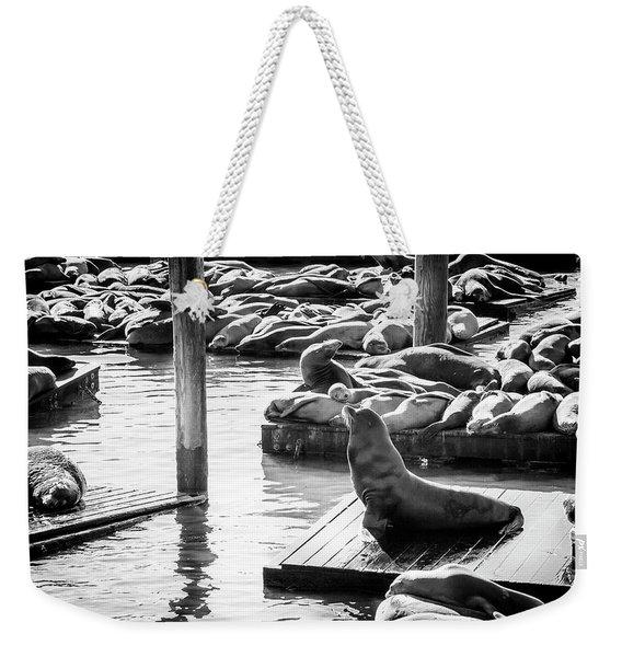 Announcement Weekender Tote Bag