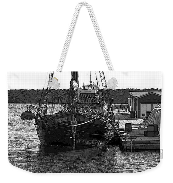 Anomaly Ship Poster Weekender Tote Bag