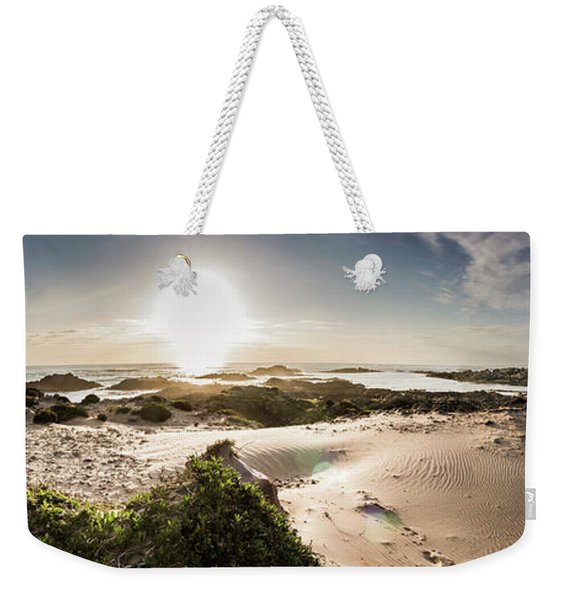 Another Beach Sunset Weekender Tote Bag