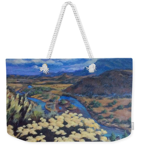 Another Day Above Rio Chama Weekender Tote Bag