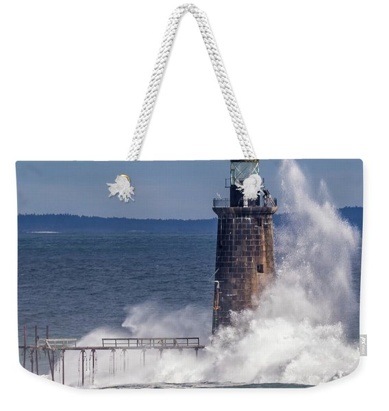 Another Day - Another Wave Weekender Tote Bag