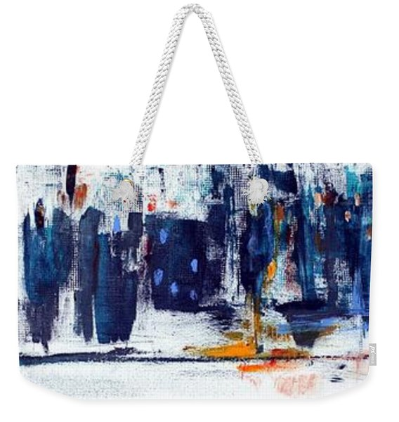 Another Day In New York City Weekender Tote Bag