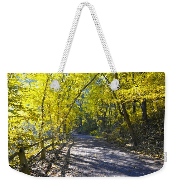 Another Fall In Philadelphia Weekender Tote Bag