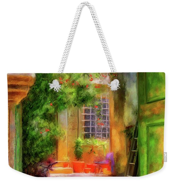 Another Glimpse Weekender Tote Bag