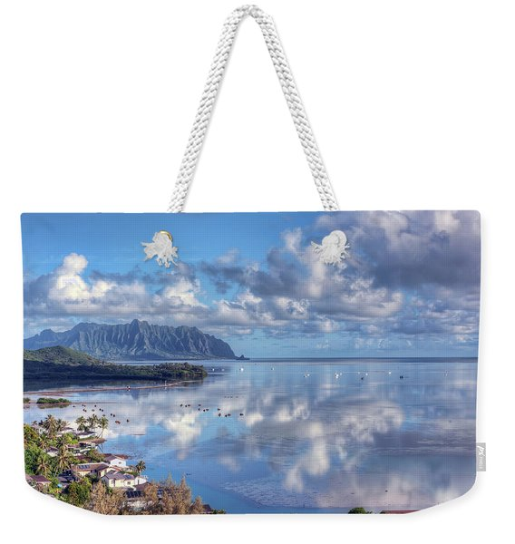 Another Kaneohe Morning Weekender Tote Bag