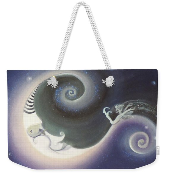 Another Moon Painting Vagabond 2005 Weekender Tote Bag
