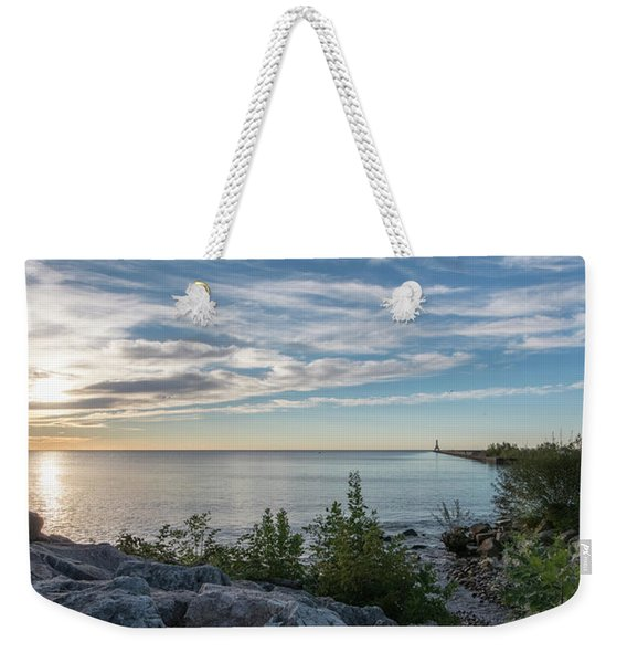Another New Day Weekender Tote Bag