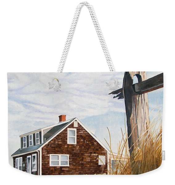 Another New England Sunrise Weekender Tote Bag