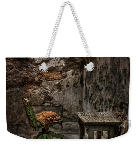 Another One Bites The Dust Weekender Tote Bag