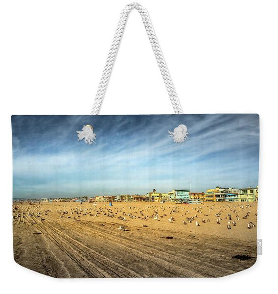 Weekender Tote Bag featuring the photograph Another Seagull Afternoon by Michael Hope